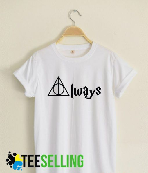 always deathly hallows t shirt