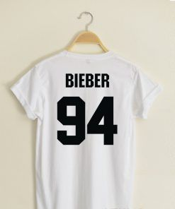 Bieber 94 T shirt Adult Unisex Size S-3XL