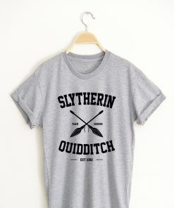 Slytherin Quidditch T shirt Adult Unisex for men and women