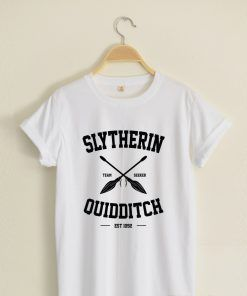 Slytherin Quidditch T shirt Adult Unisex Size S 3XL