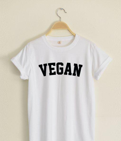 VEGAN T shirt Adult Unisex Size S-3XL for men and women