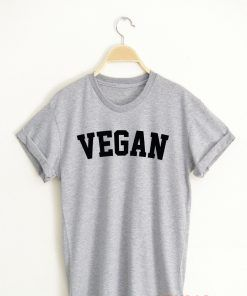 VEGAN T shirt Adult Unisex Size S-3XL for men and women
