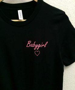 Baby girl Love women T shirt Adult Unisex Size S 3XL