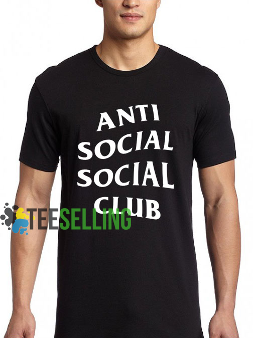 Anti Social Social Club T shirt Adult Unisex For men and women Size S 3XL