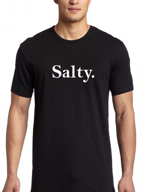 Salty T shirt Adult Unisex Size S 3XL