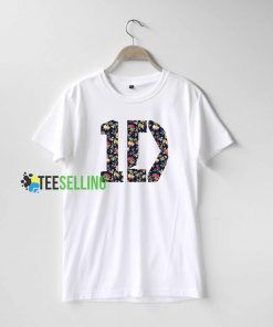 1D One Direction Flowers T Shirt Adult Unisex