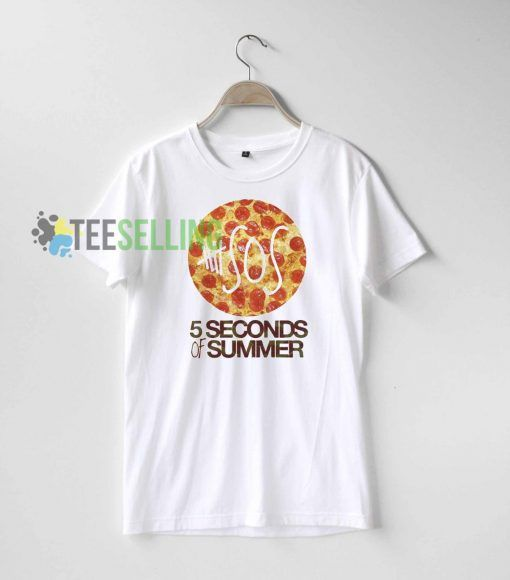 5 SOS Pizza T shirt For men and women Size S 3XL