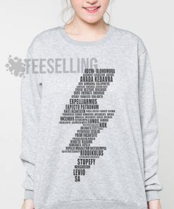 Lightning Bolt Spells Unisex adult sweatshirts