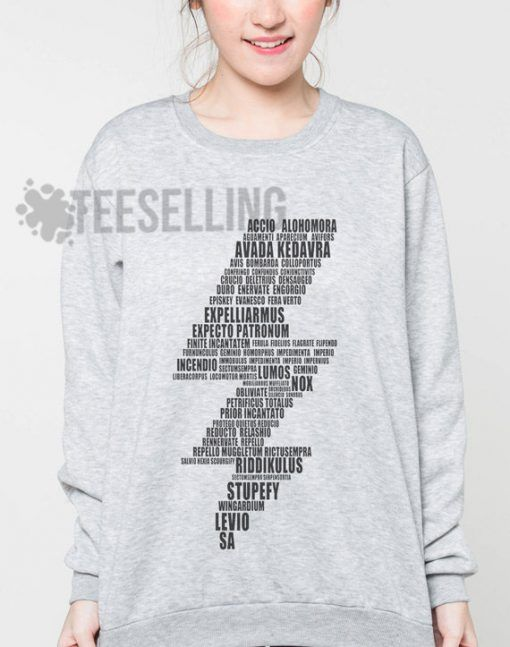 Lightning Bolt Spells unisex adult sweatshirts men and women