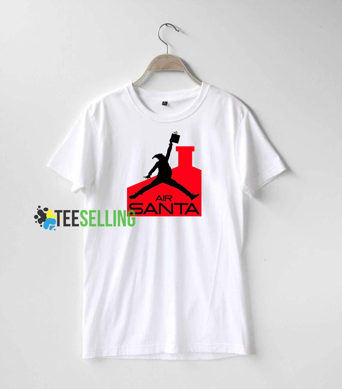 f3d6ca26b86859 Air santa T shirt Adult Unisex For men and women Size S-3XL