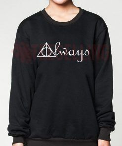 Always Deathly Hallows Unisex adult sweatshirts