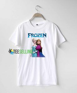 Anna and Elsa Frozen T Shirt Adult Unisex