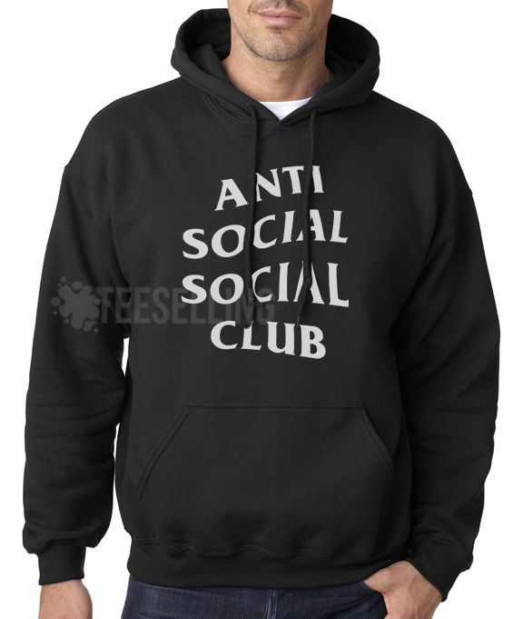 97c84110 Anti Social Social Club unisex adult Hoodies for men and women
