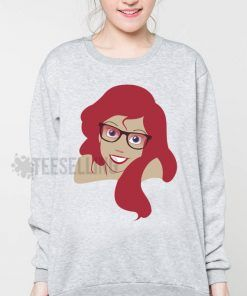 Ariel mermaid Hipster Unisex adult sweatshirts