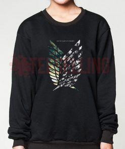 Attack on titan Unisex adult sweatshirts