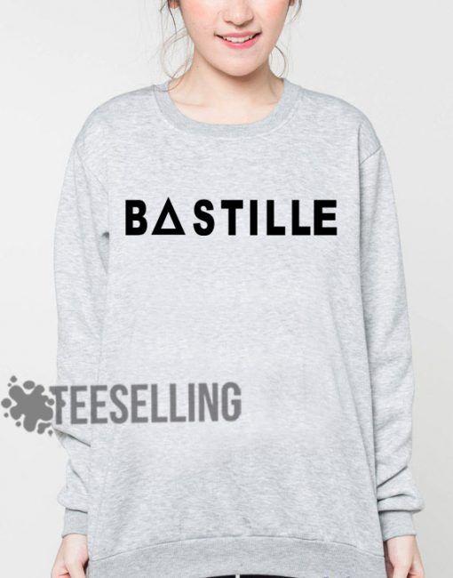 Bastille logo unisex adult sweatshirts