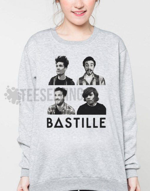 Bastille Cover unisex adult sweatshirts