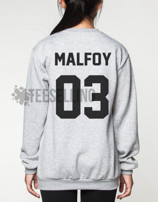 Draco Malfoy Harry Potter Unisex adult sweatshirts