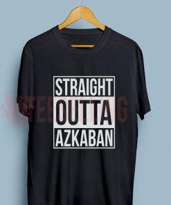 Harry Potter azkaban T Shirt Adult Unisex