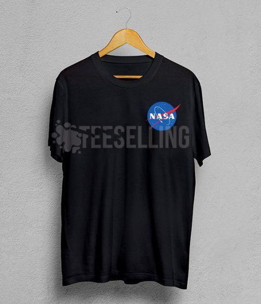 Nasa space logo T Shirt