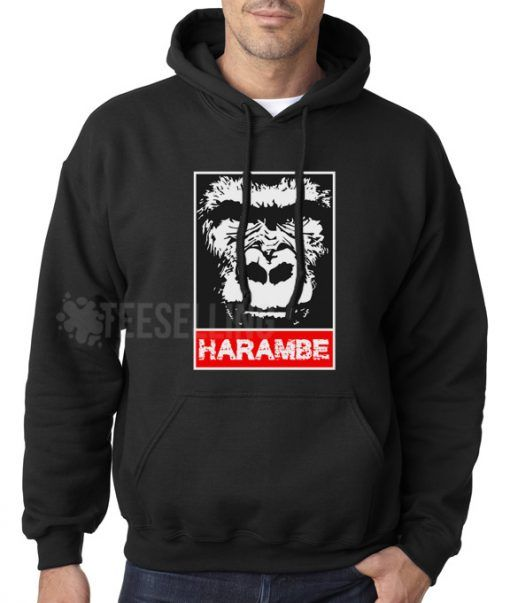 Remember Harambe unisex adult Hoodies for men and women