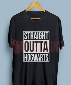 Straight Outta Hogwarts T Shirt Adult Unisex