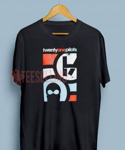 Twenty One Pilots mask crew T shirt