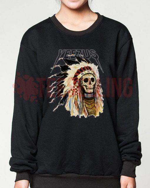 Yeezus cover unisex adult sweatshirts men and women