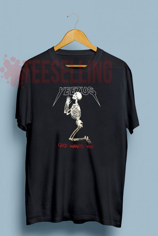Yeezus T shirt Adult Unisex For men and women Size S 3XL