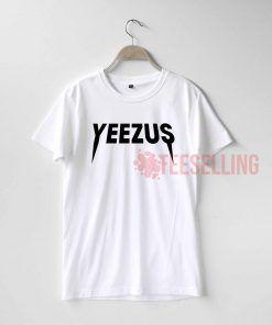 Yeezus logo T Shirt Adult Unisex