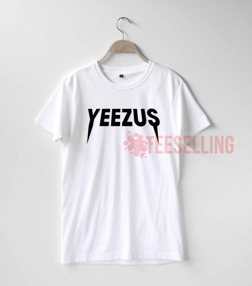 Yeezus logo T shirt Adult Unisex For men and women Size S 3XL