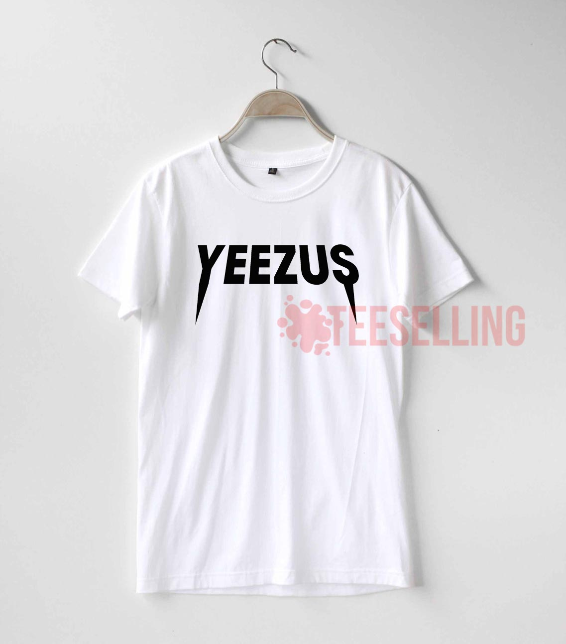 4002db01c Yeezus logo T shirt Adult Unisex For men and women Size S 3XL