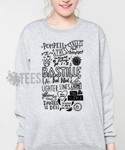 Bastille collage Unisex adult sweatshirts
