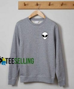 Alien sweatshirt adult sweatshirts men and women