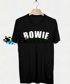 DAVID BOWIE T-SHIRT UNISEX