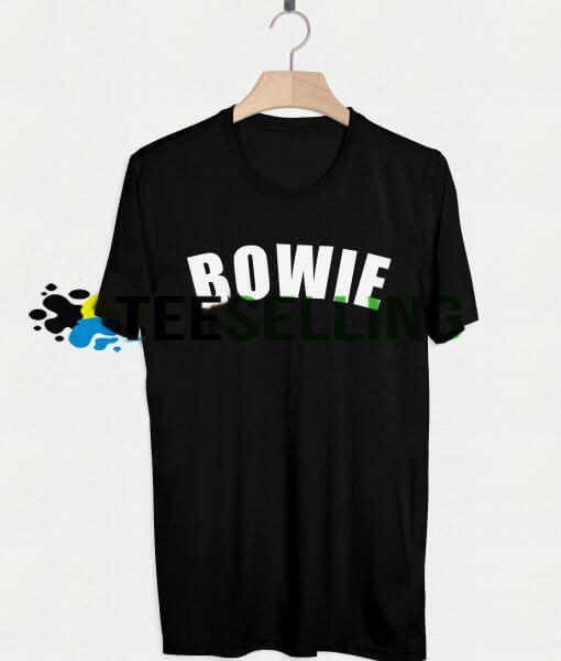 DAVID BOWIE T-SHIRT UNISEX