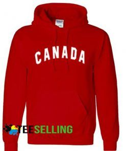 CANADA RED Hoodie