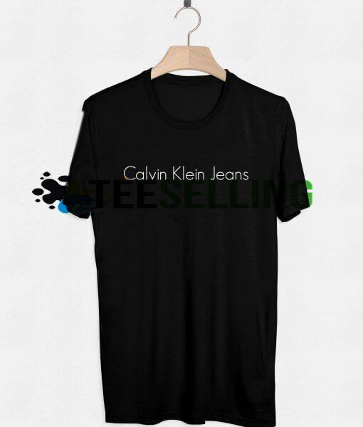 Calvein Klein Jeans T SHIRT UNISEX