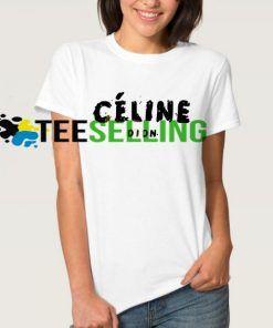 Celine Dion T-SHIRT Adult UNISEX