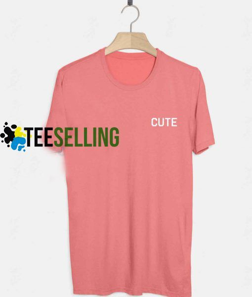 Cute Pink T-shirt Adult UNISEX