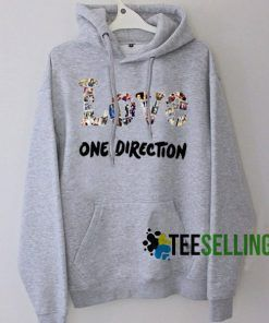 Love One Direction Hoodie Unisex Adult
