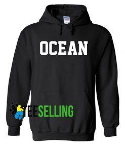 OCEAN BLACK HOODIE