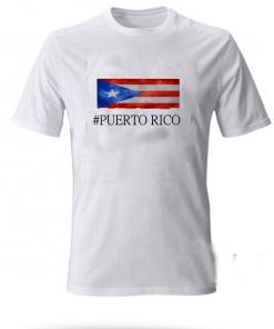 Puerto Rico Flag T-SHIRT Adult UNISEX