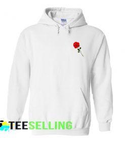 Red Rose Hoodie
