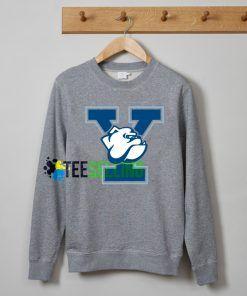 Yale University mascot sweatshirts unisex