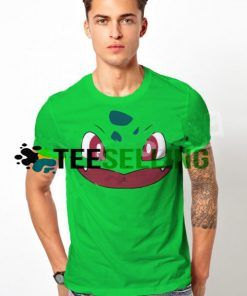 Bulbasur Face T-SHIRT UNISEX