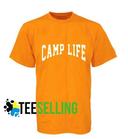 Camp life T shirt Unisex