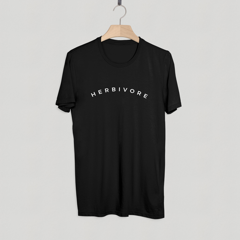 35286b28c Herbivore T shirt Adult Unisex men and women Size S 3XL