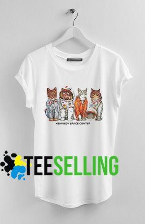 Kennedy Space Center Cat T-shirt Unisex
