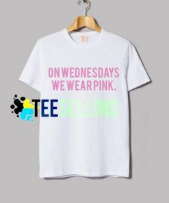 On Wednesdays we Wear Pink T-shirt Unisex
